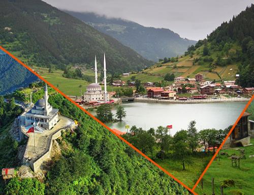 برنامج اسبوع سياحي لعطلة العسل في الشمال التركي
